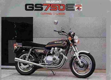 1980 Suzuki Gs750l by Suzuki Gs750e Hobbiesxstyle