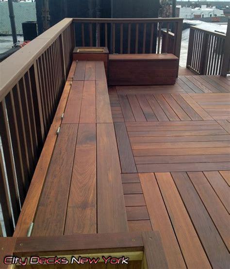 brazilian ipe wood deck  city decks  york llc www