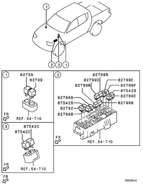 relay flasher sensor for 2007 2009 mitsubishi l200 triton sportero strada ka4t eur mmth