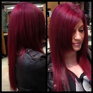 les 25 meilleures idees de la categorie cheveux magenta With violet couleur chaude ou froide 16 coiffeur beaune