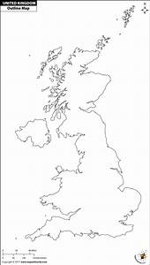 Uk Outline Map For Print