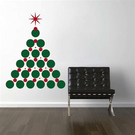christmas tree wall decal trendy wall designs