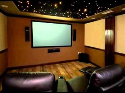 diy home theater room decor ideas youtube