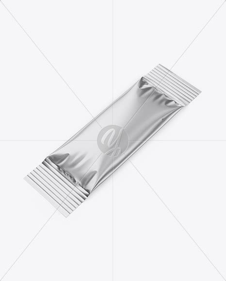 Contains special layers and a smart objects for your artwork. Metallic Stick Sachet - Half Side View in Sachet Mockups ...