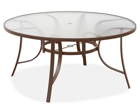 outdoor dining table replacement glass interior