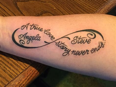 infinity marriage tattoo marriage tattoos relationship