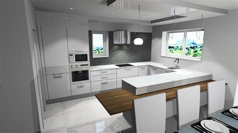 cuisine haut de gamme pas cher cuisine design blanc et bois