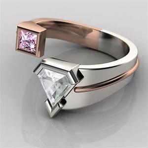 25 super geeky engagement rings youbentmywookie With geek wedding rings