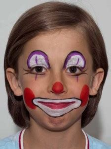 schminken clown vorlage clown schminken kost 252 m verschiedene varianten