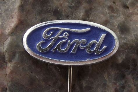 antique ford motor company car truck logo automobile oval