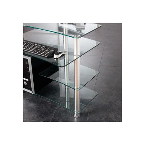 bureau ordinateur verre bureau ordinateur en verre 28 images bureau ordinateur