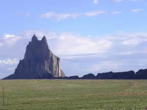 Shiprock New Mexico Rock Formation