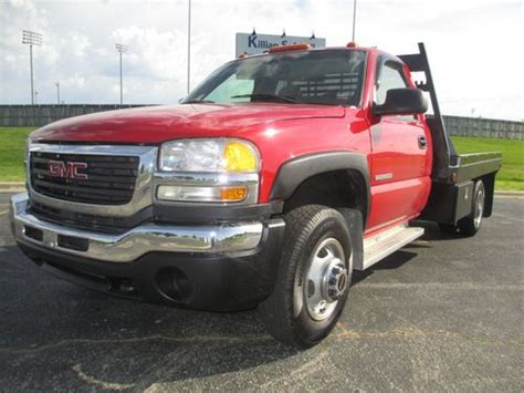 car owners manuals for sale 2003 gmc sierra 1500 interior lighting buy used 2003 gmc sierra 3500 4x4 flatbed v8 5 speed manual 1 0wner no reserve in