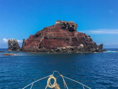 pinzon island rock    faith galapagos islands tourism  ecuador