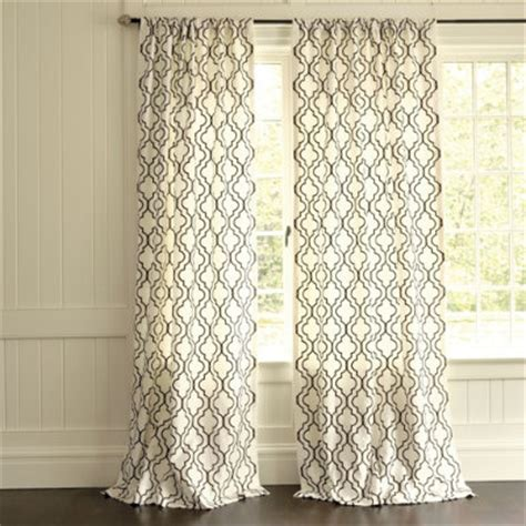 royal design studio stenciled curtains knock off ballard