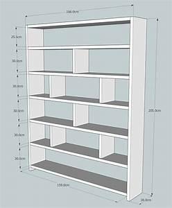 Bibliothèque Profondeur 25 Cm : best 25 wooden bookcase ideas on pinterest cube wall shelf wooden house decoration and dvd ~ Teatrodelosmanantiales.com Idées de Décoration
