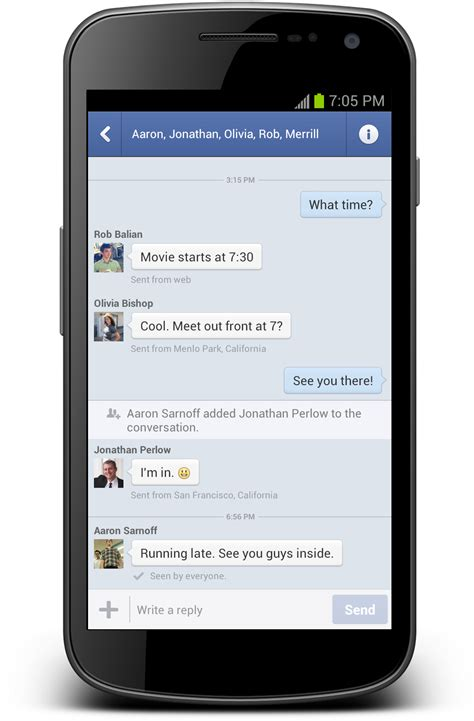messenger for android messenger continues war on sms with android