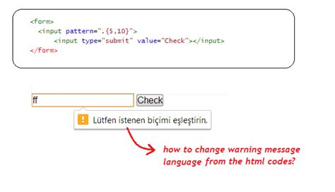 jquery how to change input pattern language from the