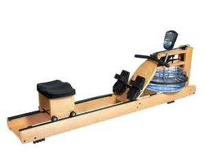 Water Rowing Machine Exercise