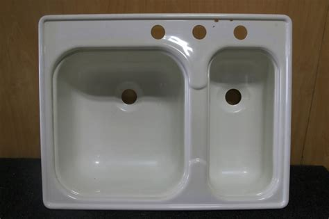 kitchen sink parts and accessories rv accessories new old stock double plastic kitchen sink