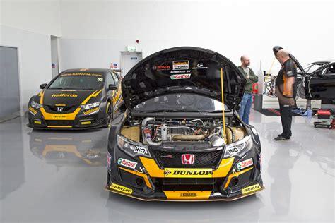 Inside The 2018 Honda Civic Type R Btcc Racing Car