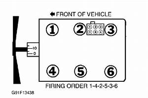 I Need The Firing Order For A 1998 Ford Ranger 4 0 4wd  I