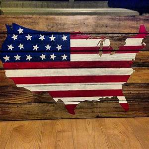 17 Best ideas about American Flag Pallet on Pinterest