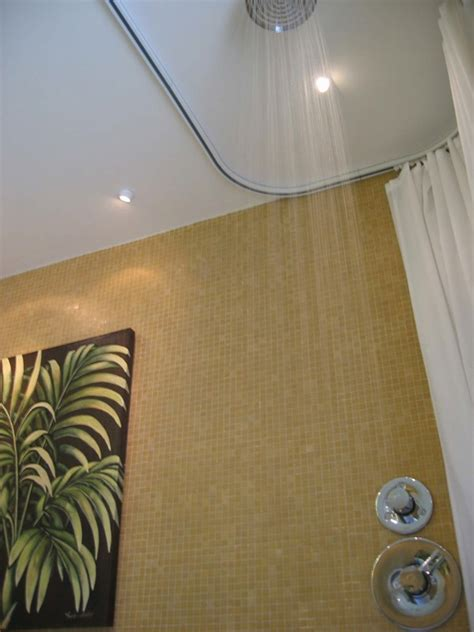 curtains ideas 187 recessed shower curtain track inspiring