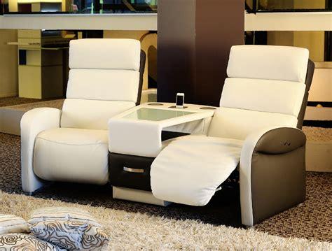 canapé 2 places home cinéma ref 25637 meubles