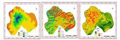 Aspect Altitude Slope Mountain Forest Diagram