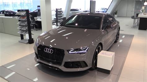audi dealership exterior audi rs7 2016 in depth review interior exterior youtube