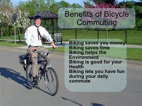 Bike To Work 1 bike to work presentation