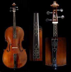 Baroque Cello Fingerboard