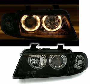 A4 B5 Scheinwerfer : angel eyes scheinwerfer f r audi a4 b5 in schwarz ad tuning ~ Kayakingforconservation.com Haus und Dekorationen