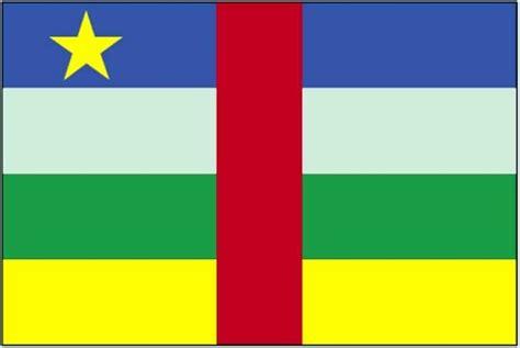 รูปภาพฟรี: ธง ประเทศ แอฟริกากลาง