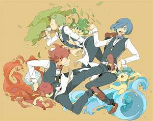 Pokemon Cilan Images | Pokemon Images