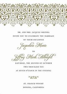 wedding invitation wording for divorced parents wedding With wedding invitations date format