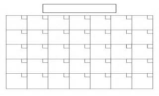 6 best images of printable blank calendar template blank calendar templates to print free