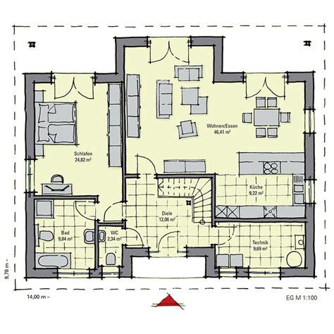 Bungalow Mit Dachgeschoss by Bungalow Mit Studio Konzept Im Dachgeschoss Mayenne