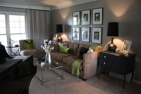 ashes  behr greybrown living room   green