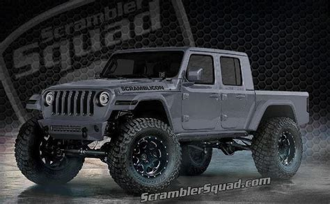 Lift Kit For 2020 Jeep Gladiator by What If Your 2020 Jeep Gladiator Scrambler Truck Was