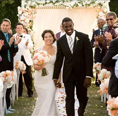 America Ferrera And Ryan Piers Williams' Wedding Arabia