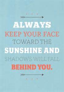 Inspirational Sunshine Quote