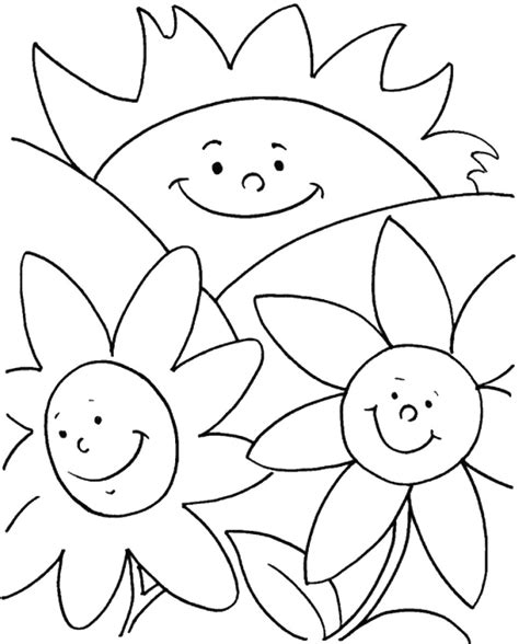 Coloring Pages Summer Theme