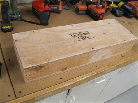 building   slab roubo workbench part  finewoodworking