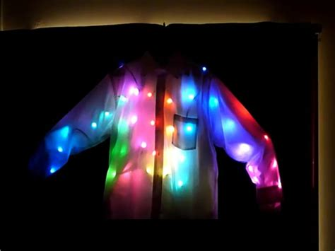 led light projects android controlled led light shirt make