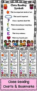 These Close Reading Symbol Charts  U0026 Bookmarks Are A Must Have During Your Close Reading Lessons