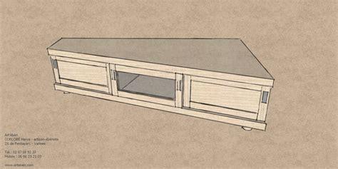 table bar de cuisine avec rangement meuble tv d 39 angle 39 ébènart 39 ébèn