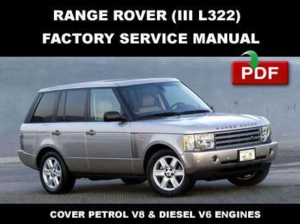 service and repair manuals 2003 land rover range rover spare parts catalogs land rover range rover 2002 2003 2004 2005 2006 factory service repair manual service repair