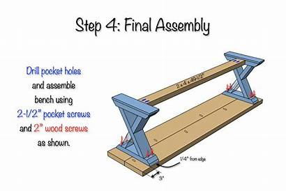 Bench Plans Diy Brace Table Woodworking Workbench
